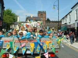 Abney & Moseley beavers float