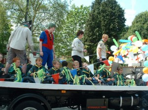 Wessex cubs float