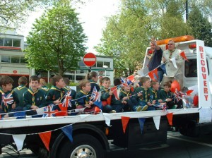 Mercia cubs float